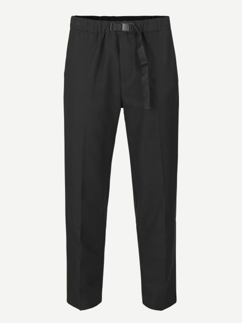 Agnar trousers 12810 - Black - 1