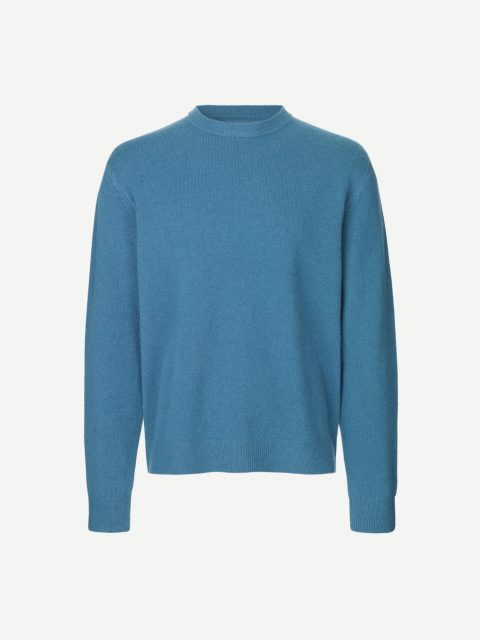 Viktor crew neck 12758 - Real Teal - 1