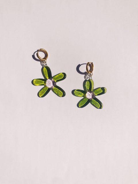 Flor verde 2